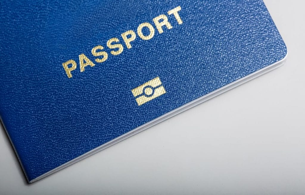Image showing the cover of a Passport.