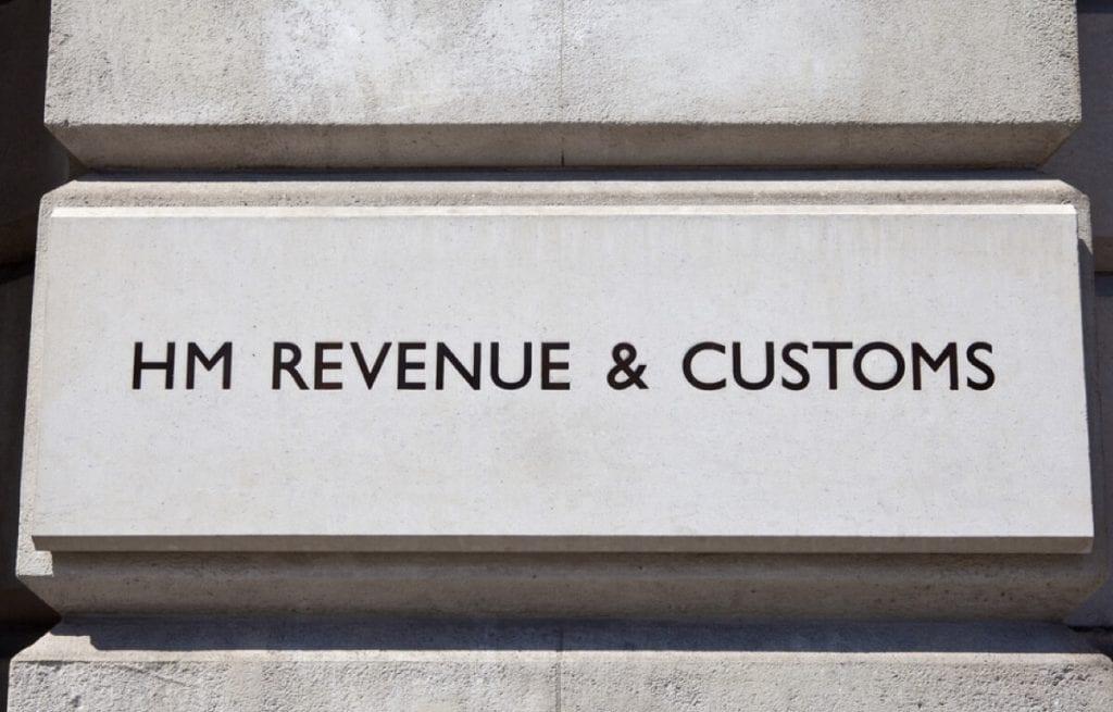 HMRC sign (c) Shutterstock